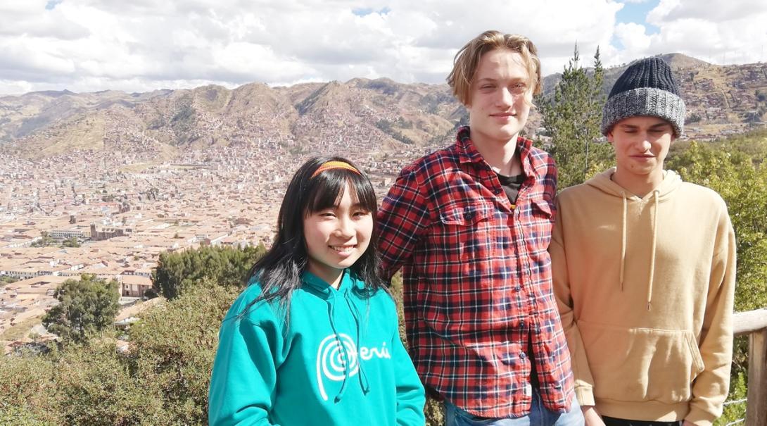 外国人高校生と共にペルーを冒険する日本人高校生ボランティア